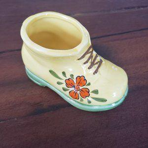 Vintage japanese porcelain shoe